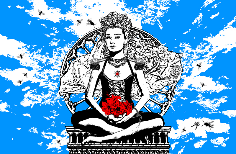 une épouse, if buddha was a woman project, nataliya velykanova © 2011