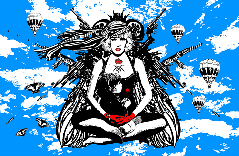 une guerrière, if buddha was a woman project, nataliya velykanova © 2011